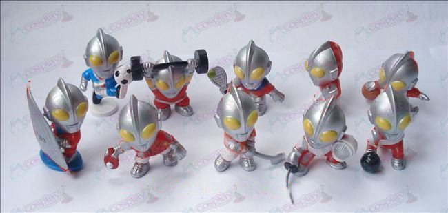 10 Superman Ultraman Αξεσουάρ Doll