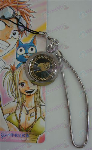 Black Steel Strap Fairy Tail Αξεσουάρ χρυσό