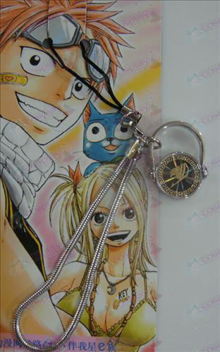 Black Steel Ring Strap Fairy Tail Αξεσουάρ χρυσό
