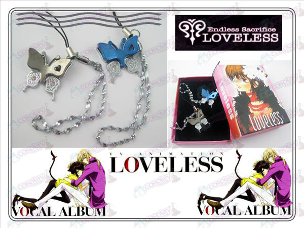 Loveless Strap Butterfly Lovers