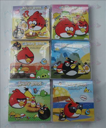 Angry Birds Αξεσουάρ Scratchpad σακουλάκια (4 / set)
