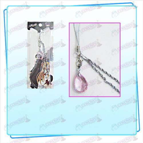 Sword Art on-line Αξεσουάρ Yui Heart Strap κρυστάλλων (Pink)