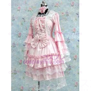 Tailor-made Pink Gothic Κοστούμια Cosplay Lolita