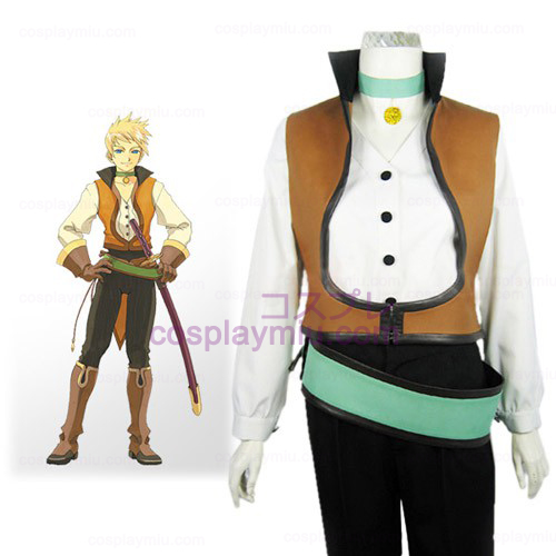 Tales of the Abyss Guy Cecil Στολή Απόκριες Cosplay
