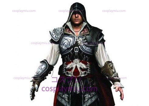 Creed Assassin ΙΙ Ezio Cosplay Black Edition