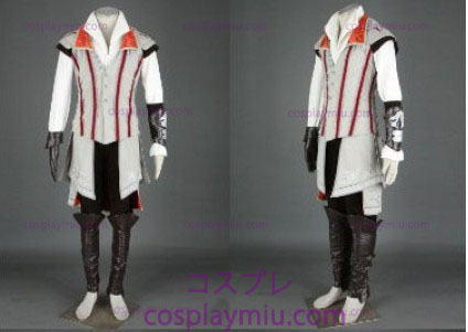 Creed Assassin ΙΙ Ezio Cosplay White Edition - Deluxe
