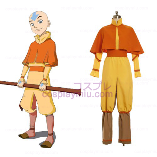 Avatar The Last Cosplay Airbender Aang Κοστούμια
