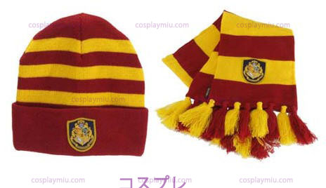 Knit Καπέλα Harry Potter Hogwart του And Set Scarf