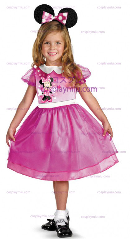 Pink Minnie Mouse Κοστούμια Toddler