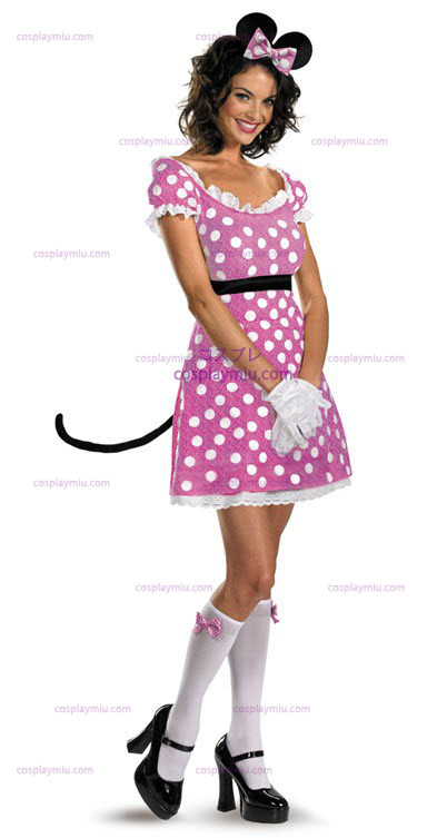 Disney Clubhouse Pink Minnie Mouse Στολή