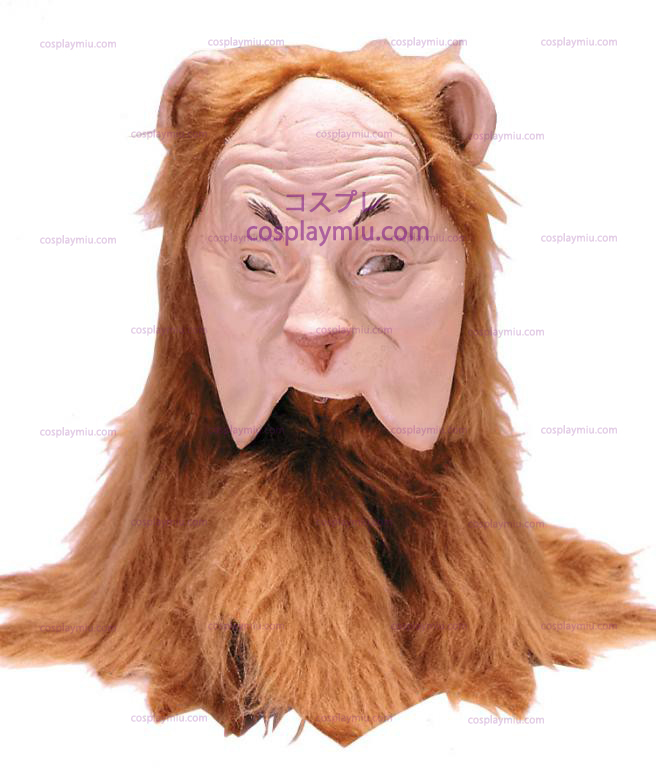 Wizard of Oz Δειλό Lion Adult Mask