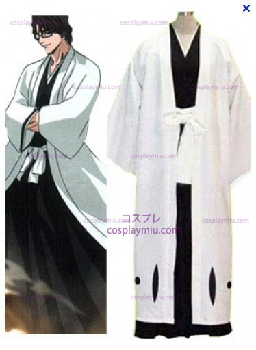 Bleach Captain Aizen Κοστούμια Cosplay Sousuke - 5ος Division