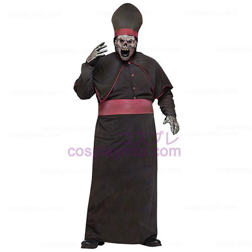 Zombie High Adult Priest Plus Κοστούμια