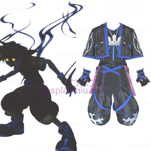 Kingdom Hearts 2 Anti Sora Κοστούμια Cosplay Men