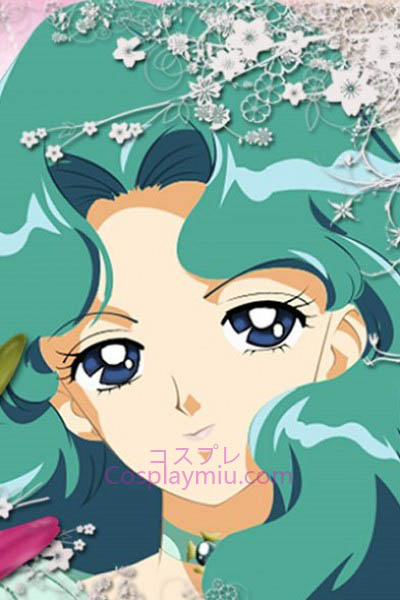 Sailor Moon Kaiou Michiru Sailor Περούκες Cosplay Neptune